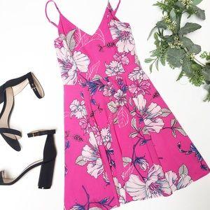 Yumi Kim Floral Fit and Flare Mini Dress